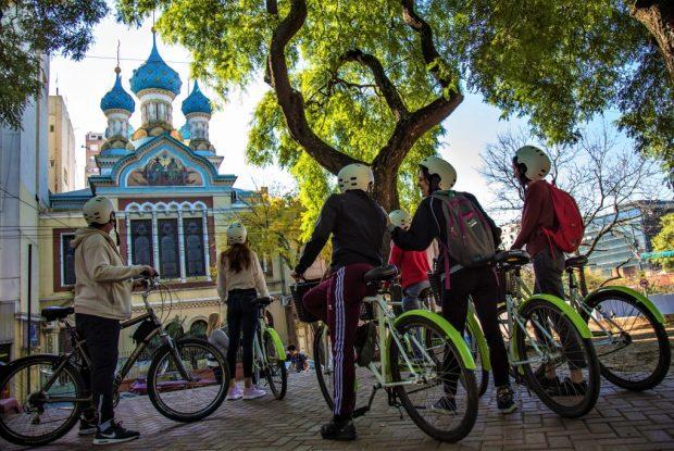 Rental Bike Tour en Parque Lezama